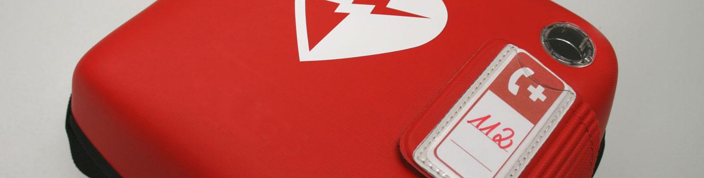 Defibrilator für Notfälle